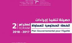 الخطة الحكومية للمساواة إكرام 2 : حصيلة تنفيذ الإجراءات برسم سنة 2019