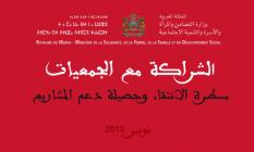 الشراكة مع الجمعيات. مسطرة الانتقاء وحصيلة دعم المشاريع 2013