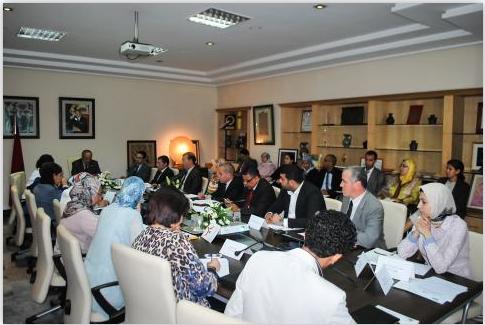 إجتماع بخصوص إطلاق الحملة الوطنية للعنف ضد الأطفال..