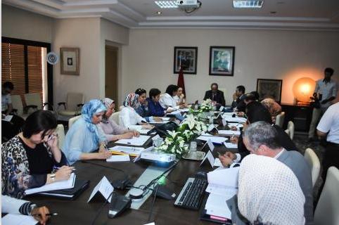 إجتماع بخصوص إطلاق الحملة الوطنية للعنف ضد الأطفال