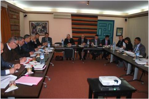 Réunion consacrée à l'examen de la loi n° 14-05 relative aux établissements de protection sociale