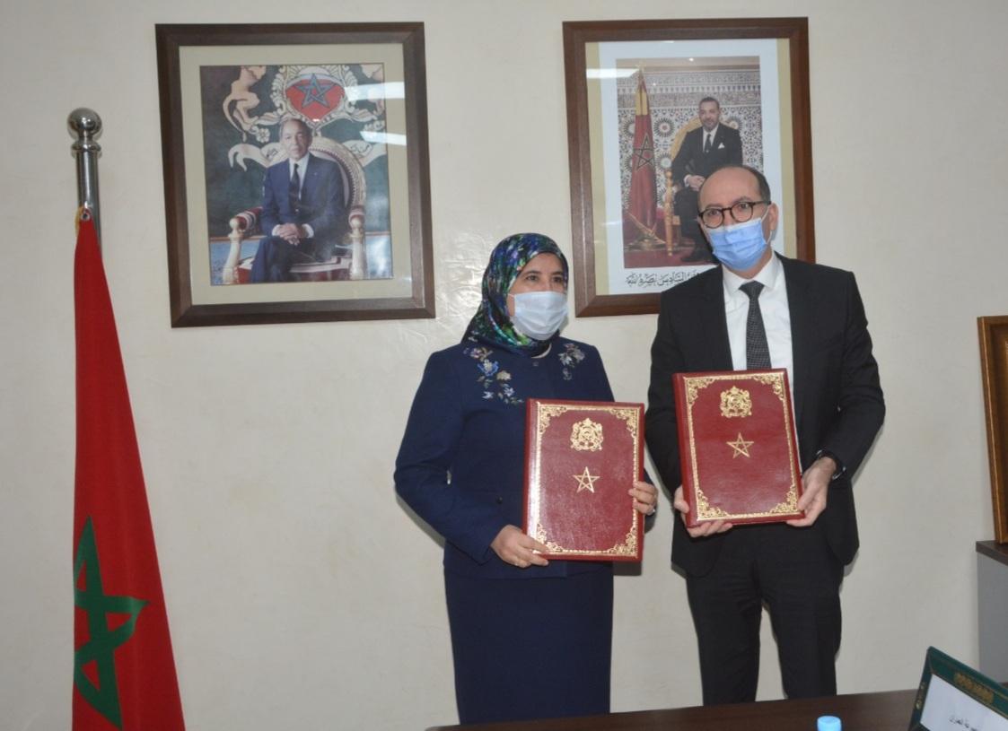 اتفاق بين وزارة التضامن والعمران لتعزيز حقوق الأشخاص في وضعية إعاقة