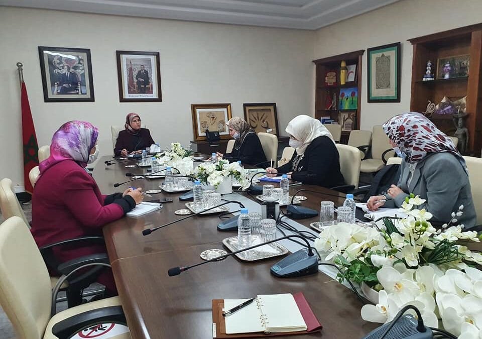 استقبال رئيسة منتدى الزهراء للمرأة المغربية