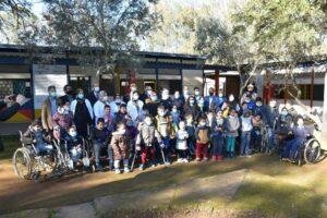 السيدة المصلي تزور مؤسسة (ابن البيطار) للأطفال المعاقين حركيا بالخميسات