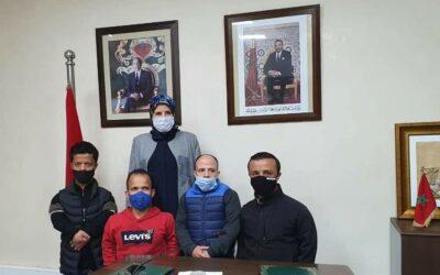 المصلي تستقبل أعضاء من الجمعية المغربية لقصار القامة