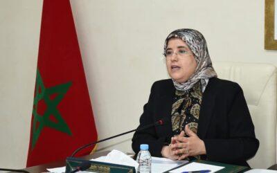 Réunion du comité de pilotage du projet d'instauration du nouveau système d'évaluation du handicap au Maroc.