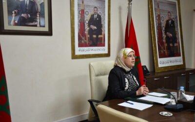 السيدة المصلي تبرز السياسات العمومية الرامية إلى تحسين الخدمات الاجتماعية