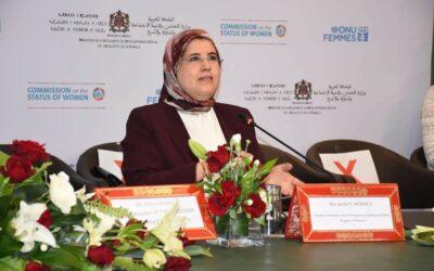 CSW65, Elmossalli met en exergue les avancées du Royaume en matière d'Autonomisation des femmes