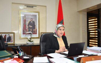 السيدة المصلي تُبرز  المقاربة التي نهجها المغرب للحد من تداعيات جائحة كورونا على الفئات الاجتماعية الهشة