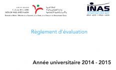 Le règlement d'évaluation / date de parution : 2008