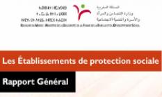 Les Etablissements de protection sociale. Rapport général