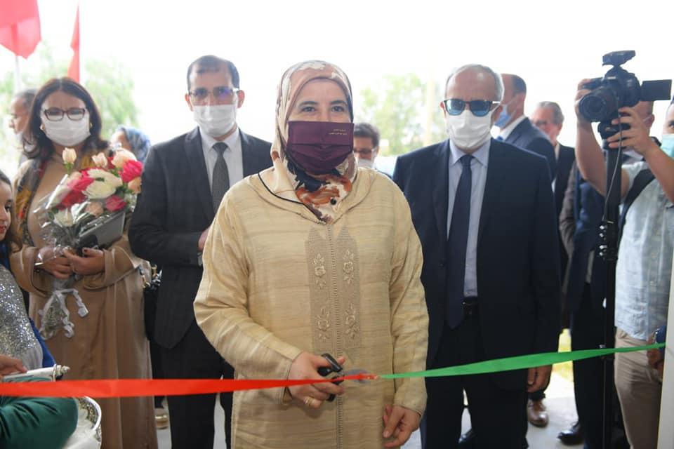 افتتاح وإطلاق خدمات المؤسسة متعددة الوظائف للنساء بتامسنا