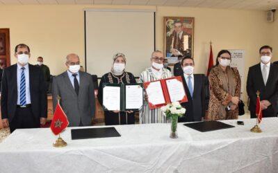 توقيع اتفاقية لتوفير الولوجيات لفائدة الأشخاص في وضعية إعاقة بتزنيت