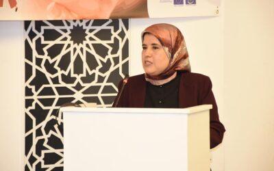 تقديم التقرير السنوي الأول للجنة الوطنية للتكفل بالنساء ضحايا العنف