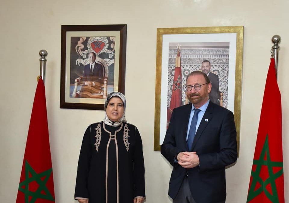 المصلي تستقبل رئيس الجمعية البرلمانية لمجلس أوروبا